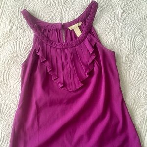 Banana Republic petite xs purple cute tank